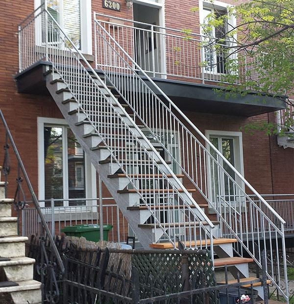 Escaliers Acier galvanisé